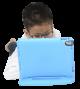 KidsCover Original  iPad (2017 & 2018), Air 1, 2 & Pro 9.7 Blauw